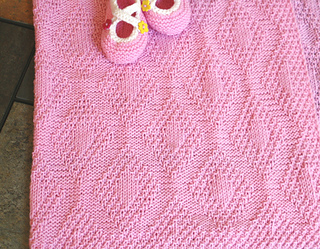 573482517 Ravelry  Forever Diamonds Baby Blanket pattern by Natalia Blank
