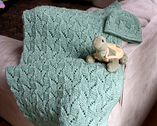 33a68965c Ravelry  Amy Baby Blanket and Hat pattern by Natalia Blank