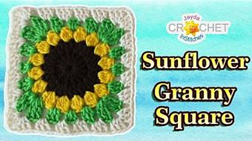 Ravelry: Sunflower Granny Square pattern by Jayda InStitches