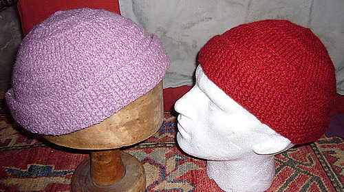 e882392e479 Ravelry  His   Hers Hats pattern by Sally Pointer  Wicked Woollens