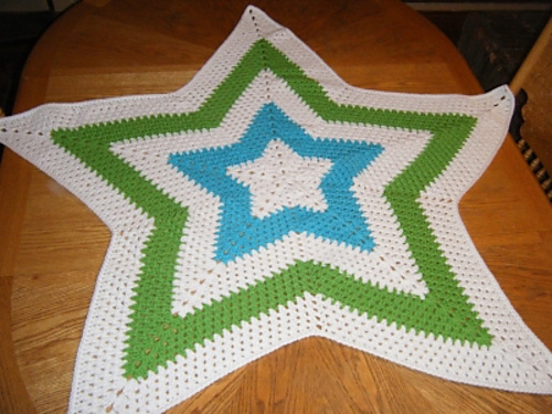 Ravelry Granny Star Afghan Pattern By Sami Jo Fitzgerald