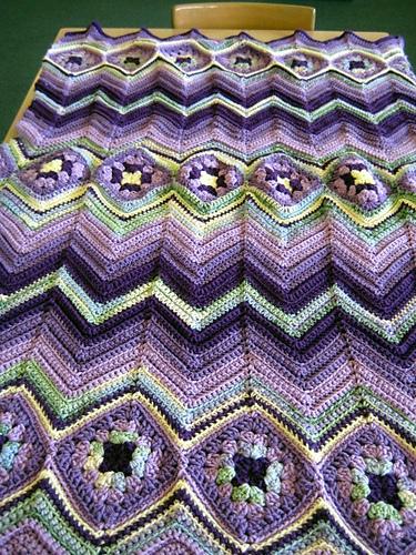 Ravelry Grannys Ripple Pattern By Diana May