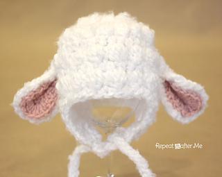 Free Amigurumi Lamb : Ravelry lamb hat pattern by sarah zimmerman