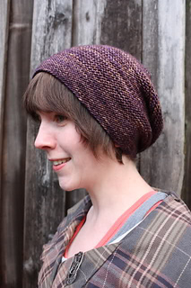 Rikke Hat pattern by Sarah Young