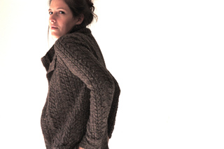 Stonecutters Cardigan pattern by Amy Christoffers