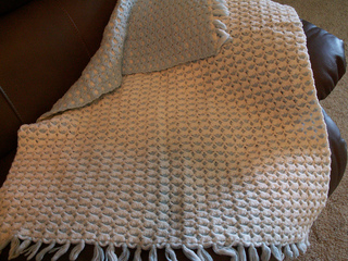 Ravelry Reversible Shell Baby Afghan 06 34089 Pattern By
