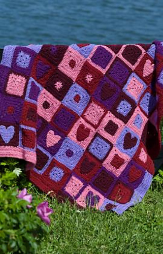 Ravelry Happy Hearts Afghan Wt1659 Pattern By Alison Grenier
