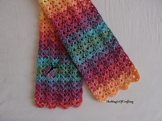 Ravelry Gorgeous Toddler Scarf Pattern By Themagicofcrafting