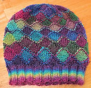 Ravelry  Faux Entrelac Hat pattern by Scarlett Royal 0c5a05d8fdf