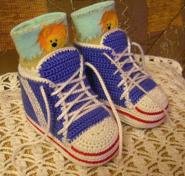 Ravelry Baby Sneakers Pattern By Schyrk