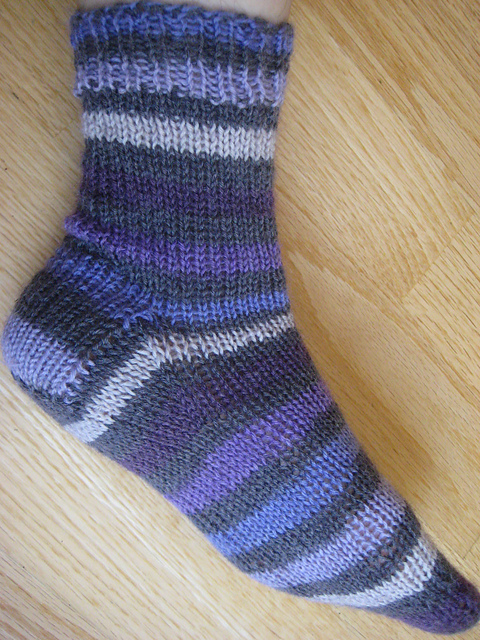 Ravelry House Of White Birches 121028 How To Knit Socks Three