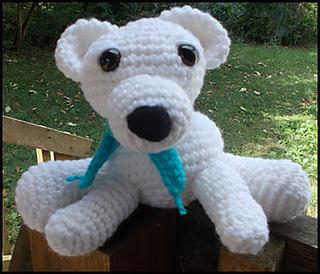 Ravelry Ava Baby Polar Bear Ami Pal Amigurumi Stuffed Bear Pattern