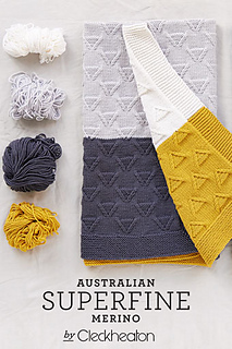 fe104c230361 Ravelry  Mod Baby Blanket  417 pattern by Cleckheaton