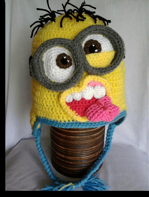 Ravelry Crazy Minion Hat Pattern By Mistybelle Crochet