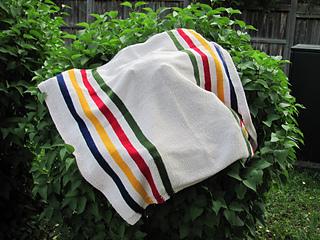 Hudson Bay Blanket Knitting Pattern : Ravelry: Hudson Bay Blanket pattern by Sheila Griffith