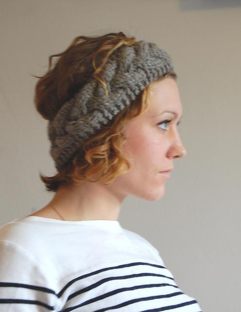 Ravelry Braided Cable Headbandearwarmer Pattern By Rachel Jacks