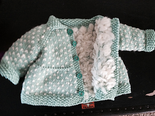 2f905f78a Ravelry  Baby + Toddler Tiered Coat and Jacket pattern by Lisa Chemery