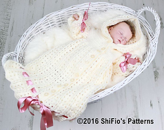 Free Crochet Pattern Baby Sleeping Bag : Ravelry: Snuggly Baby Sleeping Bag Crochet Pattern #41 ...