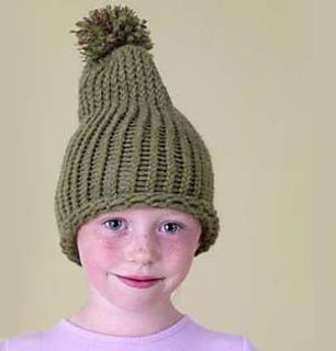678e26292c0 Ravelry  Knifty Knitter Loom Simple Toboggan Cap pattern by Lion Brand Yarn