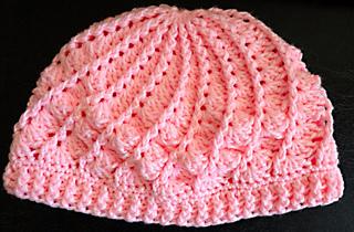 Ravelry  shirleykaiser s Crocheted Divine Hat 3 cb3dfa54fef