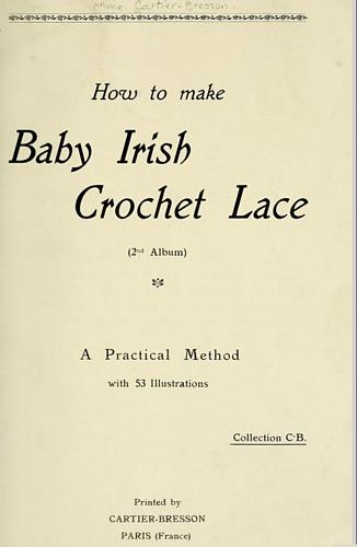 ravelry how to make baby irish crochet lace 2nd album patterns