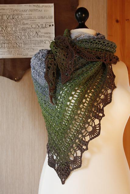 Ravelry: Schal Quiraing pattern by Silvia Bangert
