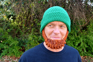 83e87125a1e Ravelry  Beard Hat Irish St Patrick s Leprechaun Costume pattern by Celina  Lane