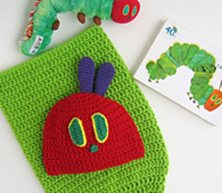 50f178ae3 Very Hungry Caterpillar Cocoon and Adult Hats pattern by Celina Lane