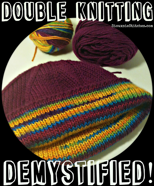 Ravelry The Double Knitting Demystified Hat Pattern By Siouxsie