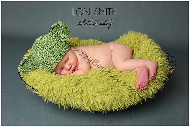 Ravelry Star Wars Yoda Hat 6 Sizes Newborn Baby To Adult