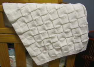 Ravelry: Easy Baby Blanket pattern by Carole Barenys
