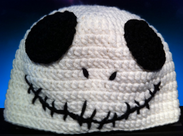 Ravelry Jack Skellington Baby Hat Pattern By Sara Merrill