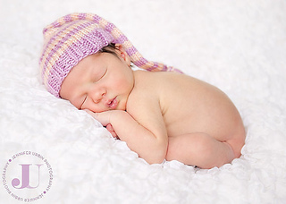 221da4f1a Striped Baby Sleeping Cap pattern by Breanna Krueger