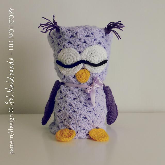 Ravelry Owl Blanket Security Blanket Amigurumi Pattern By Sol