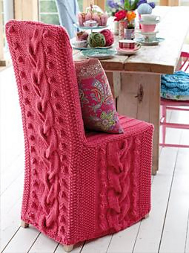 Ravelry Chair Cover Pattern By Erika Knight