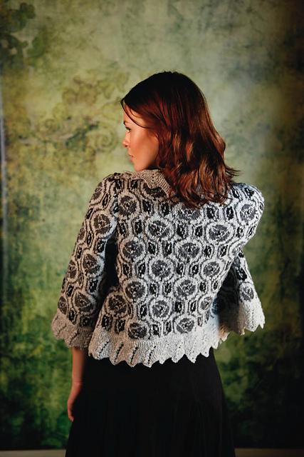 Ravelry Mackintosh Rose Jacket Pattern By Martin Storey
