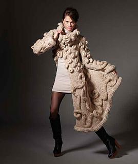 2156 Wildly Haute Coat pattern by Schachenmayr