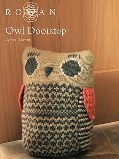 Ravelry: Owl Doorstop Pattern By Sara Thornett