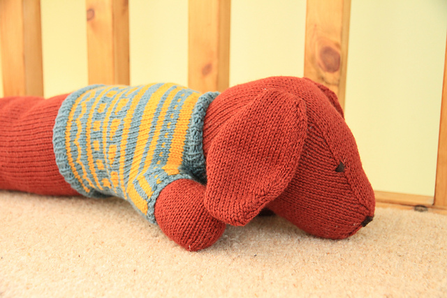 Ravelry Sausage Dog Draft Stopper Pattern By Jem Weston