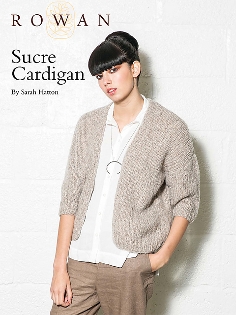 Ravelry Sucre Cardigan Pattern By Sarah Hatton