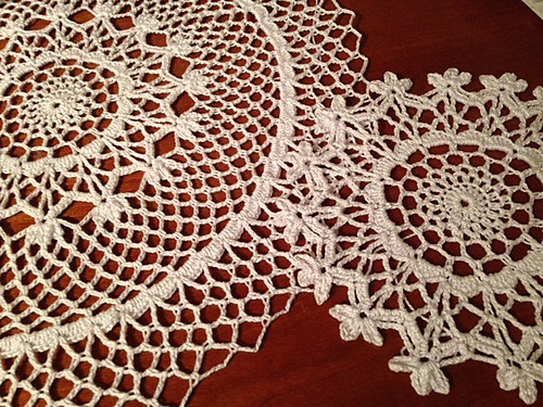 Ravelry: Mother & Daughter Doilies pattern by American Thread Company