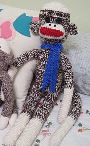 Ravelry Crocheted Sock Monkeys Pattern By Valesha Marshell Kirksey