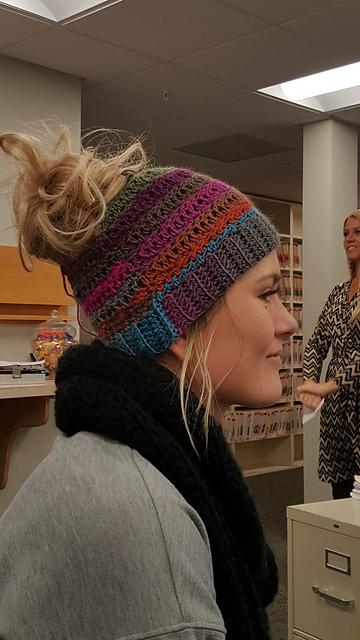 patterns   Stacey Thorngren s Ravelry Store.   Stacey s Bun Hat c62d896c5b1