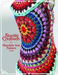 Free Crochet Pattern For Mandala Vest : Ravelry: Mandala Vest pattern by Jennifer Xerri