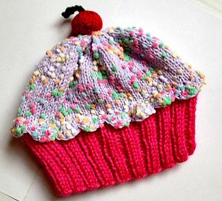 690303456 Cupcake Hat pattern by Vicki Mann