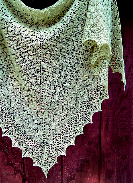 Ravelry Lace Triangle Collection Ethereal Lace Shawls Patterns