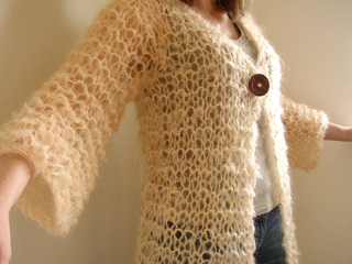 Ravelry Long Mohair Cardigan Pattern By Siobhan Brown