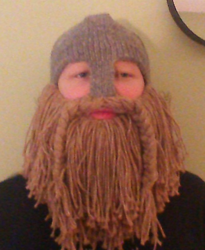 Ravelry Larping Helmet With Optional Beard Pattern By Susan Henry