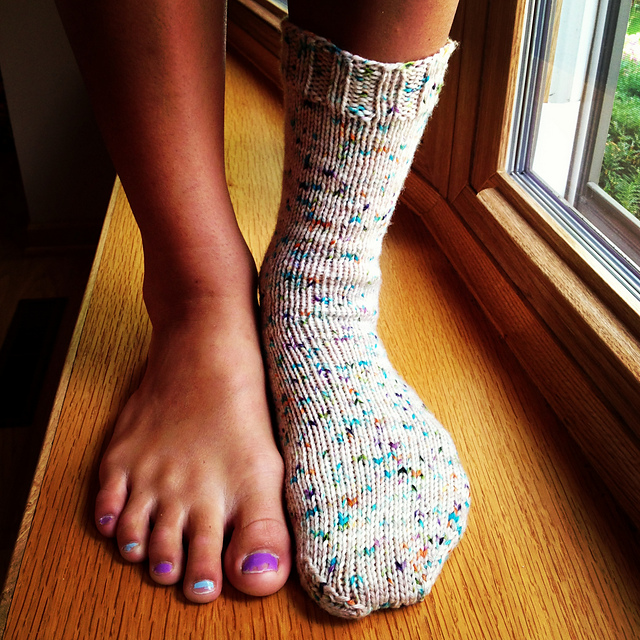 Ravelry How I Make Worsted Weight Socks Pattern By Susan B Anderson