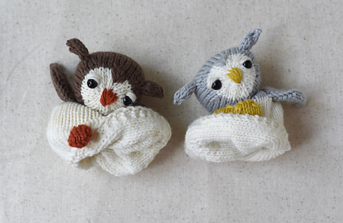 Ravelry Egg To Owl Reversible Toy Pattern By Susan B Anderson